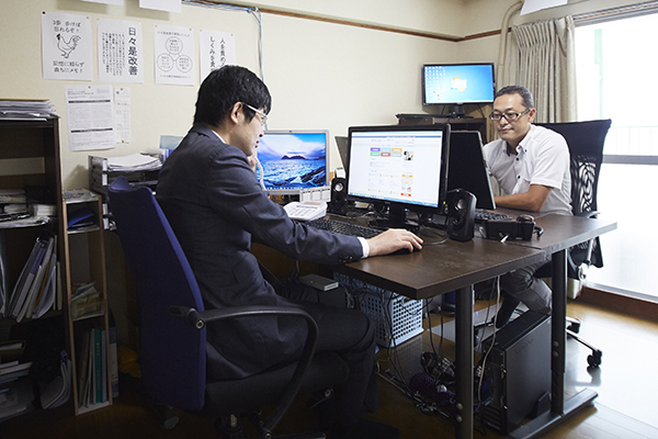 事務所の風景_オフィス1